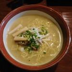 らーめん ひなた - 鶏ガラ塩ラーメン(小盛り) 700円