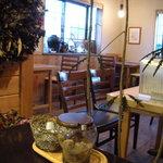 自家焙煎コーヒー工房OGATA - 喫茶と豆販売の店舗