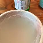 朝日屋 - の湯割り