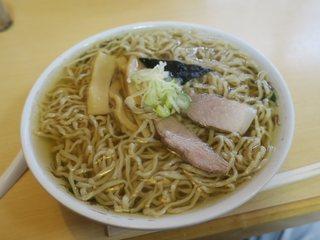 多良福 - 中華そば(¥550)