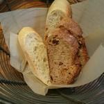 61561303 - お通しのパン・ア・ラ・ピエールとレザンノア