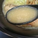 麺や ぼんず - 鶏白スープ