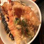 蕎麦屋 山都 - 天丼