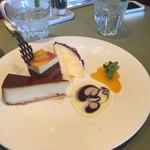 マンマパスタ - デザート3種盛り。