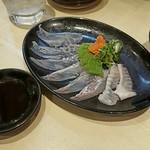 富士一 - 寒ヒラメの薄造り