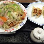 リンガーハット - スナック皿うどん 450円