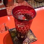 狼煙 - 切子のグラス