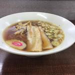 らーめん大将 - 煮干しラーメン ¥780-(2017.1.22)