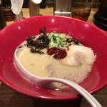 博多 一風堂 - 2017年01月22日  赤丸新味(バリカタ)850円