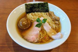 中華そば 七麺鳥 - 中華そば 七麺鳥(味玉醤油ラーメン 850円)