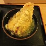 水道橋麺通団 - 天ぷらイン、大きい