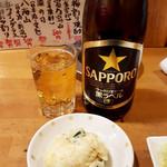 四文屋 - 中瓶500円(税別)