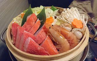 和食と産直鮮魚 喜作 大宮店 - 豪華金目鯛と海鮮の極み蒸籠鍋