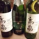 晴れる屋 - 最近話題の『国産ワイン』もご用意ワインセラーで飲み頃温度もしっかり管理してます。