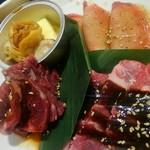 トラジ葉菜 - 次のお肉。
