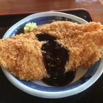 上野製麺所 - チキンカツ100円