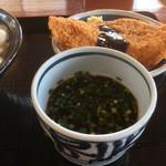 上野製麺所 - つけ出汁