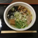 武者気 - 2017/01/21 煮干し塩らぁ麺 500円×2