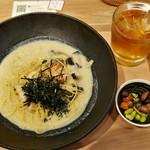 こなな - えびと帆立のごま味噌豆乳クリーム(1180円)