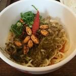 香家 - 麻辣・汁なし担々麺 ハーフ