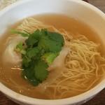 香家 - 日式・えびわんたん麺 ハーフ