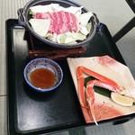 北天の丘あばしり湖鶴雅リゾート COTA - この肉は美味しかったね