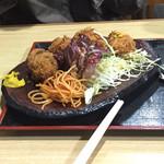 泉屋・手打うどん - カキフライ 650円