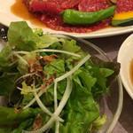 食道園 - サラダと牛ちゃん☆★★☆