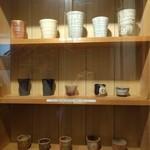 天味 - 大将の手作りの陶芸