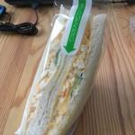 手づくりサンドイッチの店 cook33 - 料理写真:タマゴサンド