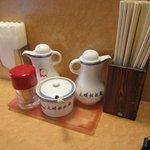 大明担担麺 - 本場の味だと解るのは場所柄お昼時は中国からの留学生も多く訪れておられてる事です・・・