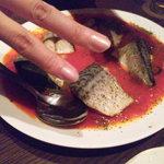 海岸食堂 さいもん - 鯖のトマト煮でございます