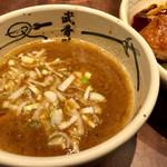 61591495 - 外伝 濃厚つけ麺(1,200円)