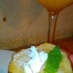 ワイン食堂wabisuke - [料理] いぶりがっこ & チーズのカプレーゼ アップ♪w