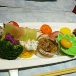 健食優菜 ひら - 彩とりどりの前菜