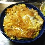 萬里 - 昔懐かしい「カツ煮丼」