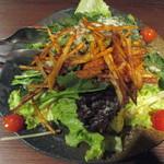 61593597 - 生ほうれん草とチーズのサラダ