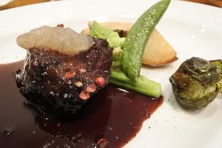 ビストロ ブータントラン - ほほ肉赤ワイン煮込み