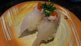 回転寿司 日本海 - かわはぎ