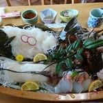 岩忠 - 料理写真:船盛り5,000円コース