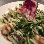 ワイのすけ - 海老とブロッコリーのサラダ仕立て