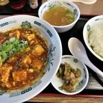 日高屋 - 麻婆豆腐定食