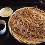 蕎麦作 つじ田 - もりそば 650円