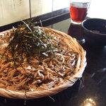 蕎麦作 つじ田 - 海苔胡麻蕎麦 750円