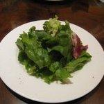 テスタコーダ - セットのサラダ