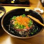 鮪 横綱亭 - 絶品の「ネギトロいくら丼(@780円)」。ネギトロ丼ならたったの480円!