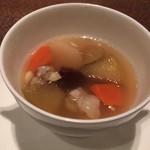 61602770 - 根菜とリンゴのスープ