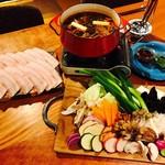 ABRACADABRA博多薬膳鍋 - お野菜は糸島の無農薬お野菜をメインに使用しています