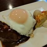 洋食 葉椰子 - デミグラスハンバーグ(単品)
