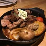 炭焼バル SACHI - 上富良野産黒毛和牛の赤身ステーキ